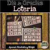Spanish Thanksgiving Lotería Game (Spanish Bingo) en Español