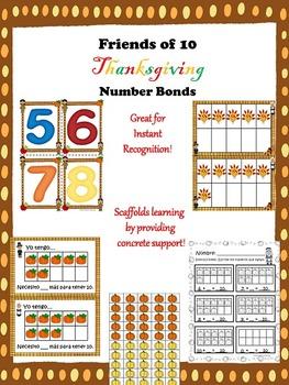 Spanish Thanksgiving Number Bonds