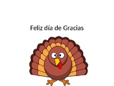 Spanish Thanksgiving Powerpoint