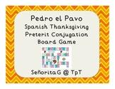 Spanish Thanksgiving Preterit Conjugation Game