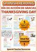 Spanish Thanksgiving Reading - Día de Acción de Gracias