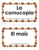 Spanish Thanksgiving Scavenger Hunt Activity