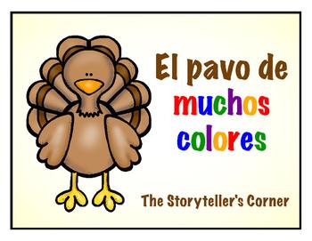 Spanish Thanksgiving Story - El pavo de muchos colores