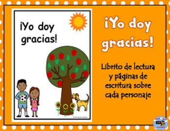 Spanish Thanksgiving Student Book and Writing Activities