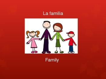 Spanish Thanksgiving Vocabulary Powerpoint