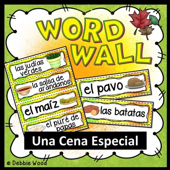 Free Spanish Word Walls Resources & Lesson Plans | Teachers Pay Teachers