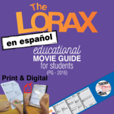 The Lorax Guía de película en Español / The Lorax Movie Gu