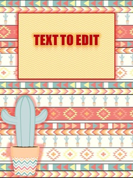 Spanish Themed Binder Covers