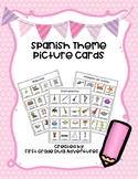 Spanish Theme Picture Cards