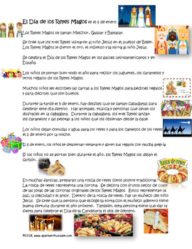 Spanish Three Kings' Day Cultural Power Point - Los Reyes Magos