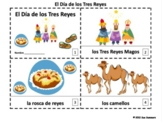 Spanish Three Kings Day / Dia de los Tres Reyes 2 Emergent Reader Booklets