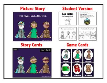 Spanish Three Kings Day Story - Las cartas