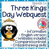 Spanish - Three Kings Day Webquest - ENGLISH Version