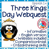 Spanish - Three Kings Day Webquest - ENGLISH Version