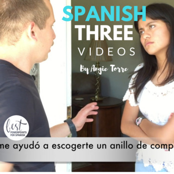 Spanish Three Videos for Comprehensible Input