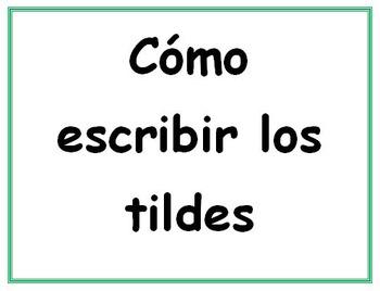 Spanish Tilde Computer Codes Printouts