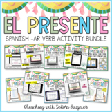 Spanish Time Bundle Editable for Distance Learning