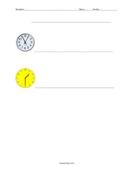 Spanish Time Practice