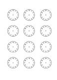 Spanish. Time. Reservations. Days. Clocks