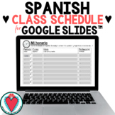 Telling Time in Spanish - Spanish Class Schedule for Googl
