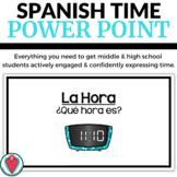 Spanish Time PowerPoint Unit - La Hora