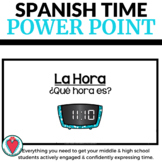 Telling Time in Spanish - PowerPoint Unit for Spanish 1 - La Hora