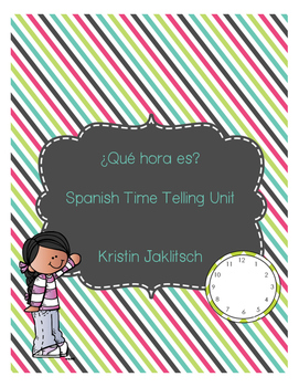 Spanish Time Unit