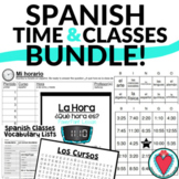 Telling Time in Spanish Games and Activities for Spanish 1 BUNDLE