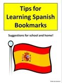 Spanish Bookmark - Tips for Learning Spanish