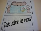 Spanish Todo sobre las Rocas booklet