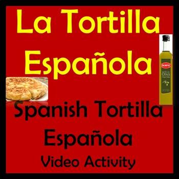 Spanish Tortilla Española Video Activity & Lesson - Comidas de España