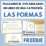 Spanish Tracing Mini-Book: Las formas - Shapes - Free Sample