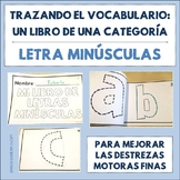 Spanish Tracing Mini-Book: Letras minúsculas - Lowercase Letters