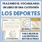 Spanish Tracing Mini-Book: Los deportes - Sports