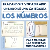 Spanish Tracing Mini-Book: Los números - Numbers