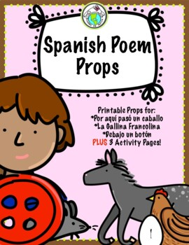 Spanish Traditional Children's Poems Props