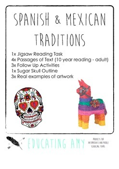 Spanish Traditions Literacy Task