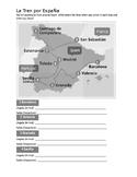 Spanish Train La Hora Activity