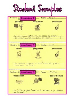 Spanish Transition Trainers for AR_ER_IR Verbs