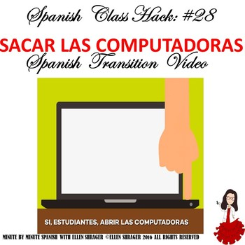 Spanish Class Hack: Transition Video Computers Improves Behavior, Routines
