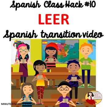 Spanish Transition Video - CI Routines Improve Class Manag