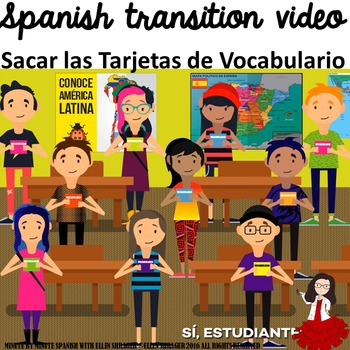 Spanish Transition Video Improves Spanish Class Management