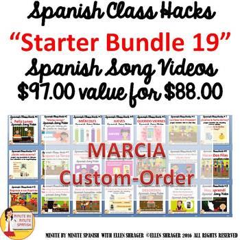 Spanish Transition Videos Starter Kit for Marcia