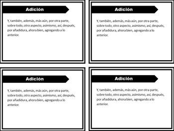Spanish Transition Words