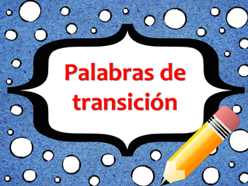 Spanish Transition Words Aligned to Text Structures
