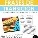 Transition Words or Phrases Aligned to Spanish Writing TEKS #1