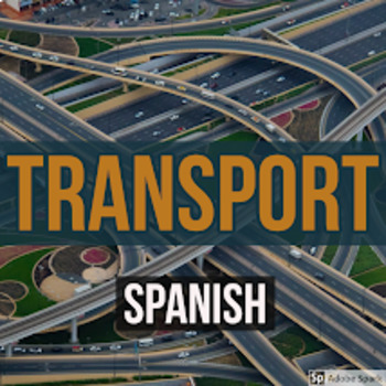 Spanish Transport Activity Sheets