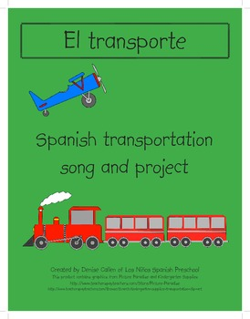 Spanish Transportation Song and Project