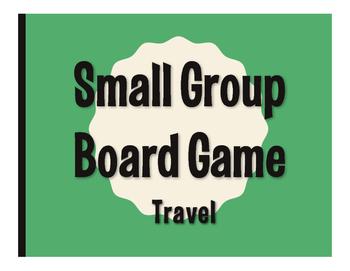 Spanish Travel Board Game