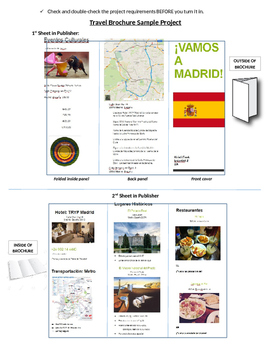 Spanish Travel Brochure Project